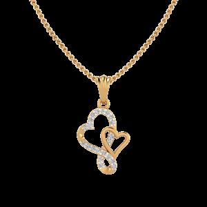 The Hearts Club Diamond Pendant