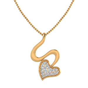 The Love & Sin Diamond Pendant