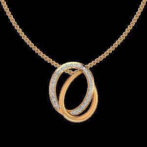 The Ovallap Diamond Pendant