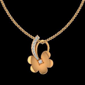 Floral Felicity Diamond Pendant