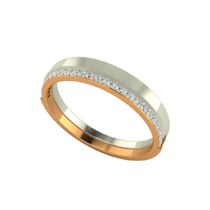 The Life Journey Couple Gold Diamond Ring For Her