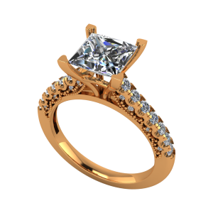 The Sultry Solitaire Gold Diamond Ring