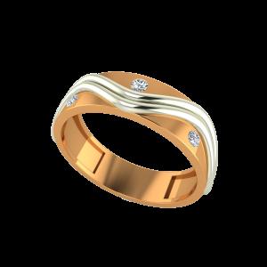 The Temptation Gold Diamond Ring