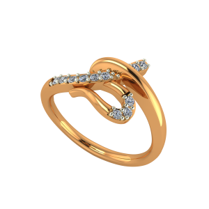 The Shine N Swag Gold Diamond Ring