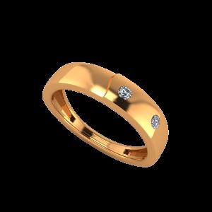 The Sun Beams Gold Diamond Ring