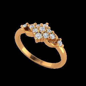 Hues Revived Gold Diamond Ring
