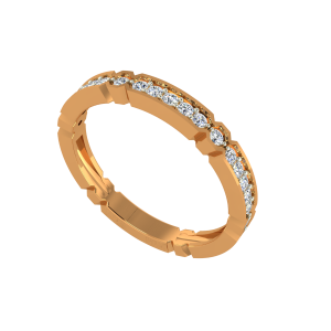 The Charm Out Gold Diamond Ring