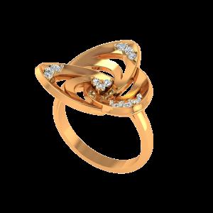 Awe & Awesome Gold Diamond Ring