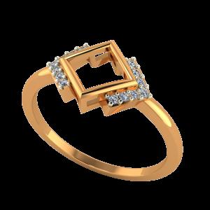 Frame Of Life Gold Diamond Ring