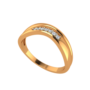 The Smile N Shine Gold Diamond Ring