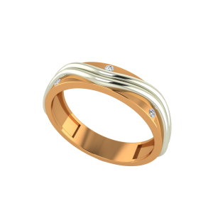 The Free Flow Gold Diamond Ring