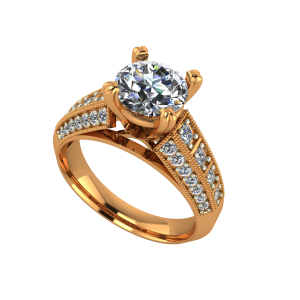 The Superb Solitaire Gold Diamond Solitaire Ring