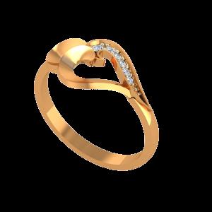 The Heart Vines Gold Diamond Ring