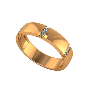 The Golden Moments Gold Diamond Eternity Ring