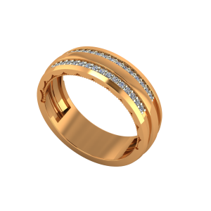 The Half Eternity Gold Diamond Ring