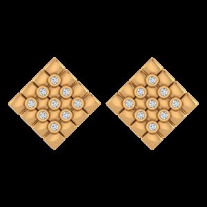 Cheers Chess Chess Diamond Stud Earrings