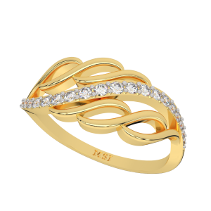 The Epiphany Gold Diamond Ring