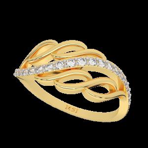 The Epiphany Gold Diamond Ring