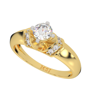 The Instant Fashion Solitaire Diamond Ring
