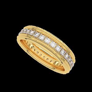 The Rolling Stars Eternity Diamond Band Ring
