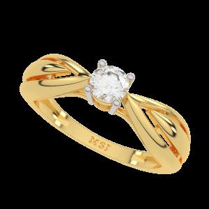 The Solitaire Bird Diamond Ring