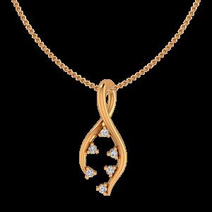 Evergreen Gold Diamond Pendant