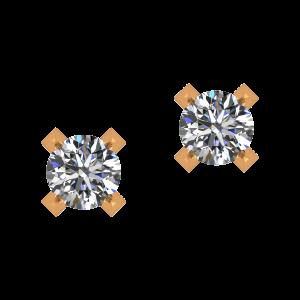 The Minimal Show Diamond Earrings