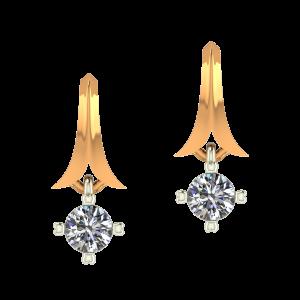 The Minimum Display Diamond Earrings