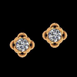 The Winsome Diamond Stud Earrings