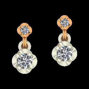 The Dual Play Diamond Earrings