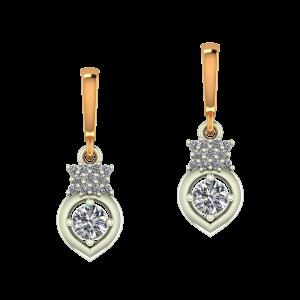 Imperial Dangle Diamond Earrings