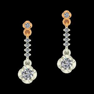 The Dancing Diamonds Dangle Earrings