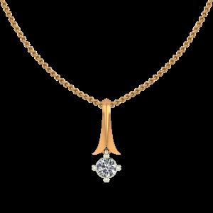The Classic Round Diamond Pendant