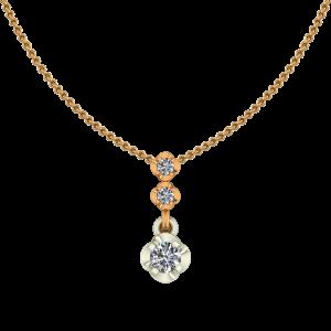 The Fancy Rounds Diamond Pendant