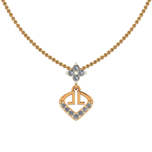 The Golden Club Diamond Pendant