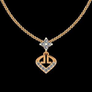 The Golden Club Diamond Pendant