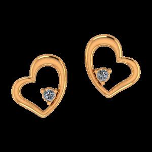 Hearts Call Diamond Earrings
