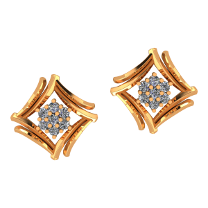 Floral Feast Diamond Earrings