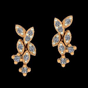 The Playfield Diamond Earrings