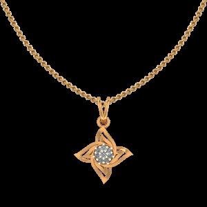 The Flower Pop Diamond Pendant