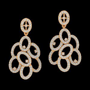 The Astounding Diamond Dangle Earrings