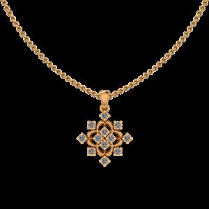 Perfect Spread Diamond Pendant