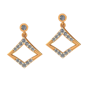 Dashing Deal Diamond Earrings