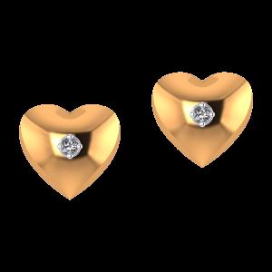 Love Of My Heart Diamond Earrings