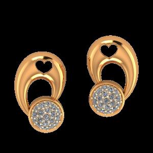 Gorgeous Play Diamond Earrings