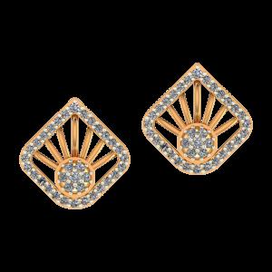 Rays Forever Diamond Earrings