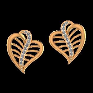 Nature`s Treat Diamond Earrings