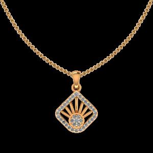 Rays Parade Diamond Pendant