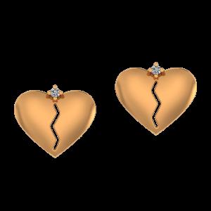 See Through Diamond Earrings
