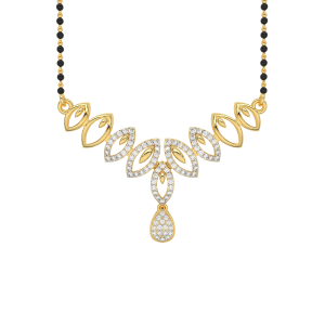 The Mysterious Mangalsutra With Black Beads Gold Chain